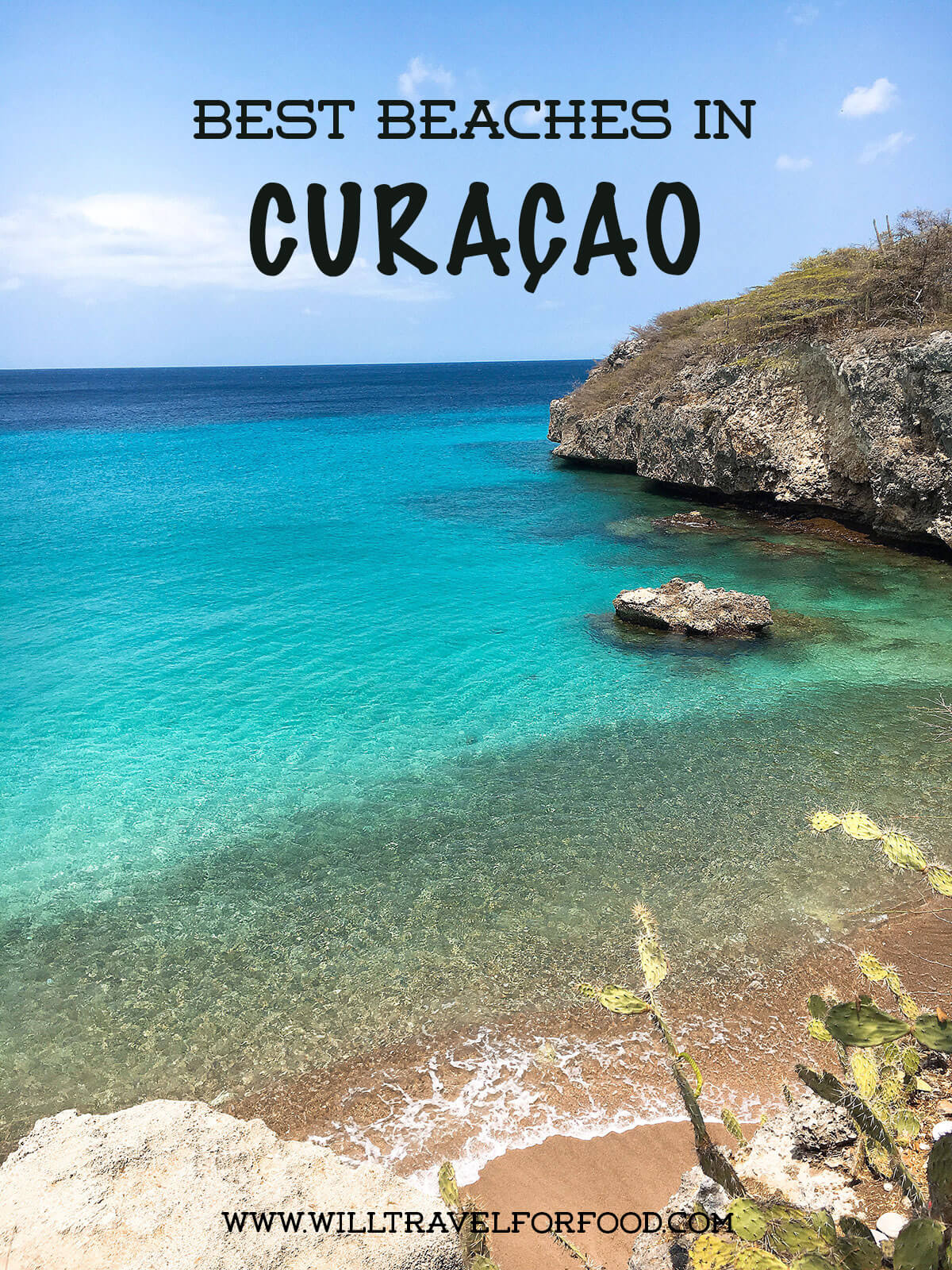 curacao best beaches © Will Travel for Food