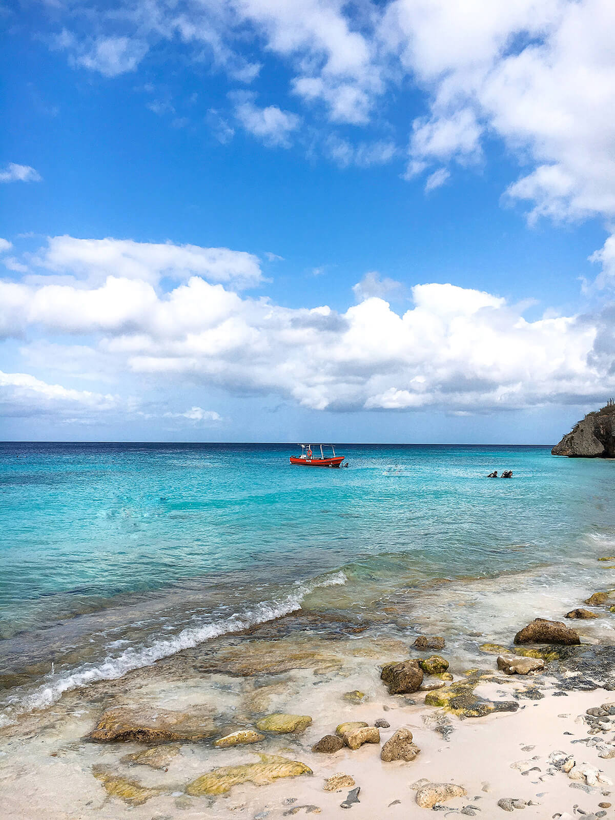 cas about best beach curaçao © Will Travel for Food
