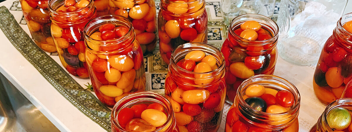 easy cherry tomato preserves | © Will Travel for Food